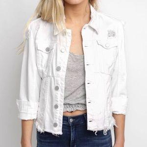 Blank NYC White Denim Jacket